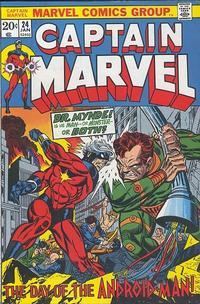 Cover Thumbnail for Captain Marvel (Marvel, 1968 series) #24