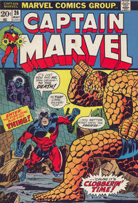 Cover Thumbnail for Captain Marvel (Marvel, 1968 series) #26 [Regular Edition]