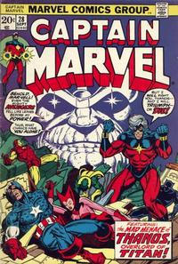 Cover Thumbnail for Captain Marvel (Marvel, 1968 series) #28 [Regular Edition]
