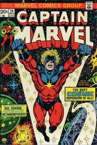 Cover Thumbnail for Captain Marvel (Marvel, 1968 series) #29