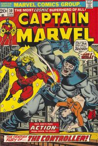 Cover for Captain Marvel (Marvel, 1968 series) #30 [Regular Edition]