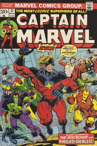 Cover Thumbnail for Captain Marvel (Marvel, 1968 series) #31 [Regular Edition]