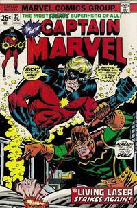 Cover Thumbnail for Captain Marvel (Marvel, 1968 series) #35 [Regular Edition]