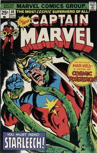 Cover Thumbnail for Captain Marvel (Marvel, 1968 series) #40 [Regular Edition]
