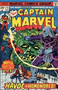 Cover Thumbnail for Captain Marvel (Marvel, 1968 series) #41 [Regular Edition]