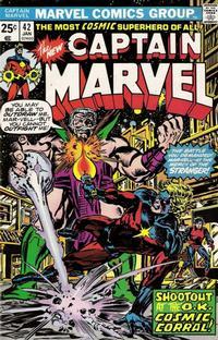 Cover for Captain Marvel (Marvel, 1968 series) #42 [Regular Edition]
