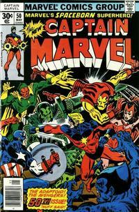 Cover Thumbnail for Captain Marvel (Marvel, 1968 series) #50 [Regular Edition]