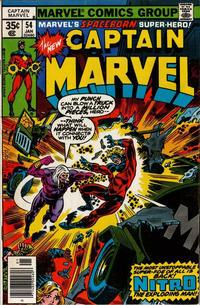 Cover Thumbnail for Captain Marvel (Marvel, 1968 series) #54 [Regular Edition]