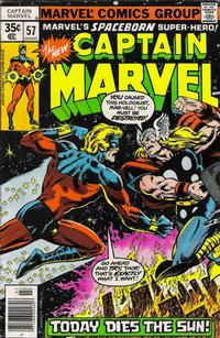 Cover Thumbnail for Captain Marvel (Marvel, 1968 series) #57 [Regular Edition]