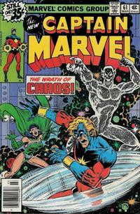 Cover for Captain Marvel (Marvel, 1968 series) #61 [Regular Edition]