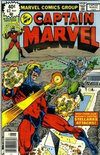 Cover Thumbnail for Captain Marvel (Marvel, 1968 series) #62 [Regular Edition]