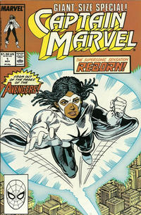 Cover Thumbnail for Captain Marvel (Marvel, 1989 series) #1 [Direct Edition]