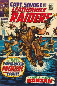 Cover Thumbnail for Capt. Savage and His Leatherneck Raiders (Marvel, 1968 series) #1