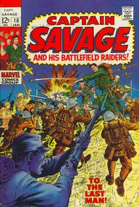 Cover Thumbnail for Capt. Savage and His Leatherneck Raiders (Marvel, 1968 series) #10
