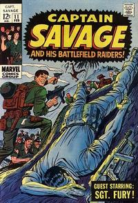 Cover Thumbnail for Capt. Savage and His Leatherneck Raiders (Marvel, 1968 series) #11