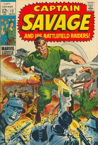 Cover Thumbnail for Capt. Savage and His Leatherneck Raiders (Marvel, 1968 series) #12