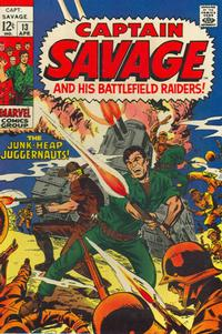 Cover Thumbnail for Capt. Savage and His Leatherneck Raiders (Marvel, 1968 series) #13