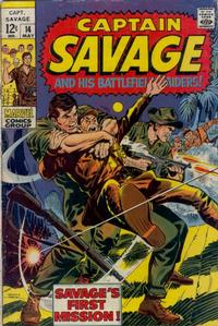 Cover Thumbnail for Capt. Savage and His Leatherneck Raiders (Marvel, 1968 series) #14