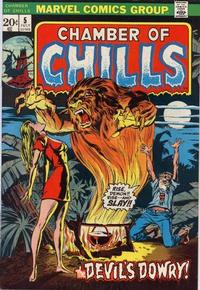 Cover Thumbnail for Chamber of Chills (Marvel, 1972 series) #5