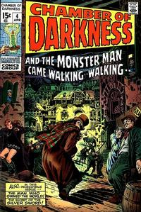 Cover Thumbnail for Chamber of Darkness (Marvel, 1969 series) #4