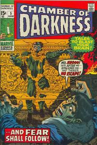 Cover Thumbnail for Chamber of Darkness (Marvel, 1969 series) #5