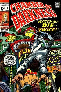 Cover Thumbnail for Chamber of Darkness (Marvel, 1969 series) #6