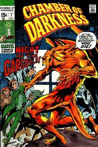Cover Thumbnail for Chamber of Darkness (Marvel, 1969 series) #7