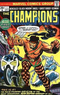 Cover Thumbnail for The Champions (Marvel, 1975 series) #1 [Regular Edition]