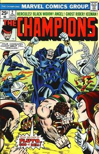 Cover Thumbnail for The Champions (Marvel, 1975 series) #2 [Regular Edition]