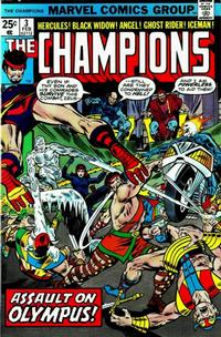 Cover Thumbnail for The Champions (Marvel, 1975 series) #3 [Regular Edition]