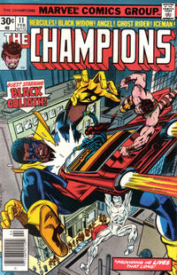 Cover Thumbnail for The Champions (Marvel, 1975 series) #11 [Regular Edition]