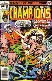 Cover Thumbnail for The Champions (Marvel, 1975 series) #12 [Regular Edition]
