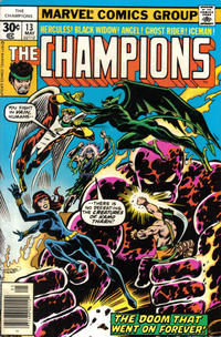 Cover Thumbnail for The Champions (Marvel, 1975 series) #13