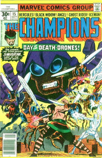 Cover Thumbnail for The Champions (Marvel, 1975 series) #15 [30¢ Cover Price]