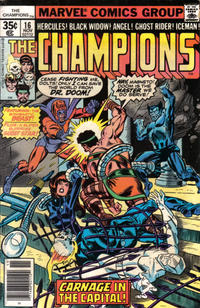 Cover Thumbnail for The Champions (Marvel, 1975 series) #16