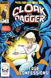 Cover Thumbnail for Cloak and Dagger (Marvel, 1983 series) #4 [Direct Edition]
