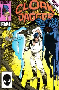Cover Thumbnail for Cloak and Dagger (Marvel, 1985 series) #4 [Direct]