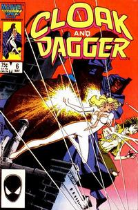 Cover for Cloak and Dagger (Marvel, 1985 series) #6 [Direct Edition]