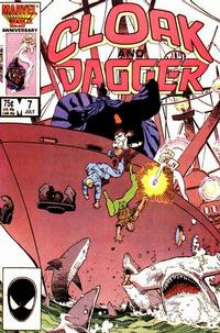 Cover Thumbnail for Cloak and Dagger (Marvel, 1985 series) #7 [Direct Edition]