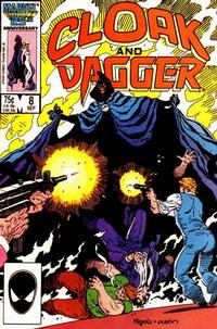 Cover Thumbnail for Cloak and Dagger (Marvel, 1985 series) #8 [Direct Edition]
