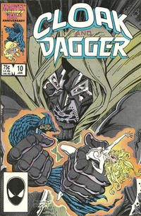 Cover Thumbnail for Cloak and Dagger (Marvel, 1985 series) #10 [Direct Edition]