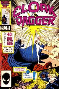 Cover Thumbnail for Cloak and Dagger (Marvel, 1985 series) #11 [Direct Edition]