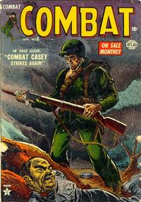 Cover Thumbnail for Combat (Marvel, 1952 series) #8