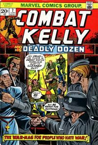 Cover Thumbnail for Combat Kelly (Marvel, 1972 series) #7