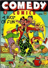 Cover Thumbnail for Comedy Comics (Marvel, 1942 series) #9