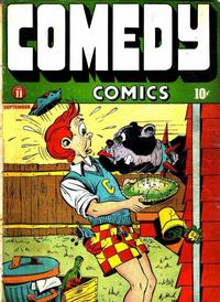 Cover Thumbnail for Comedy Comics (Marvel, 1942 series) #11