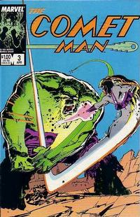 Cover Thumbnail for Comet Man (Marvel, 1987 series) #3
