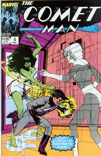Cover Thumbnail for Comet Man (Marvel, 1987 series) #4