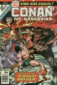 Cover Thumbnail for Conan Annual (Marvel, 1973 series) #2