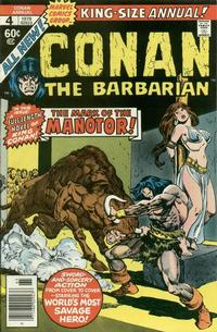 Cover Thumbnail for Conan Annual (Marvel, 1973 series) #4